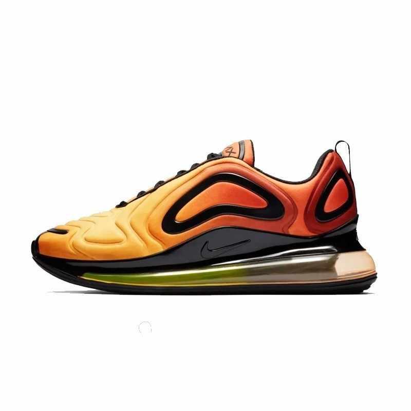 Оригинальный Nike Air Max 720 мужские кроссовки для бега подушка из вентилируемой ткани Спортивные Кроссовки Новое поступление AO2924/AR9293
