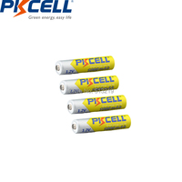 3A PKCELL AAA Bateria Recarregável 1000mah 1.2v AAA NIMH Bateria Recarregável aaa ni mh baterias|Baterias recarregáveis| |  -