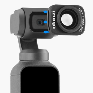 Image 3 - Ulanzi Op 5 Large Wide Angle Lens For Osmo Pocket,Professional Hd Magnetic Structure Lens Osmo Pocket Accessories