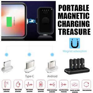 12800mAh Portable Finger Power
