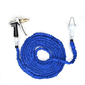 Image 2 - Hot Metal Hose Nozzle High Pressure Garden Auto Car Washing Water Gun Sprayer Adjustable Copper Hose Spray Nozzle Gun Wholesale