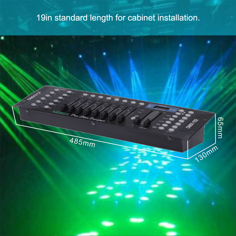 HOT Party Lights Controller 192 Channels DMX512 Controller Console for Stage Light Party DJ Disco Operator