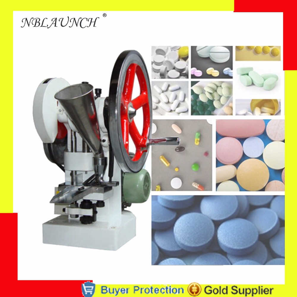 Medical Pill Press Machine Tablet Making Pressing Device Tdp5 Medicinal Tablets Candy Milk Powder Medicine Pressor Free Shipping