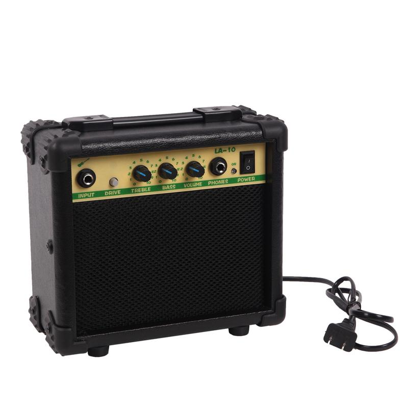 30 pouces Mini guitare électrique Instruments de musique bouton ukulélé basse Guitarra avec touche en érable bandoulière Plectrum - 3