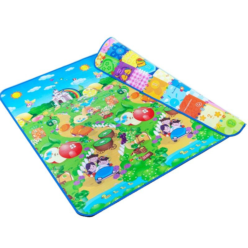 Baby Play Mat 200x180x2cm Developing Mat for Children Tapete Infantil Waterproof Two Sides Soft Children Foam Puzzle Carpet
