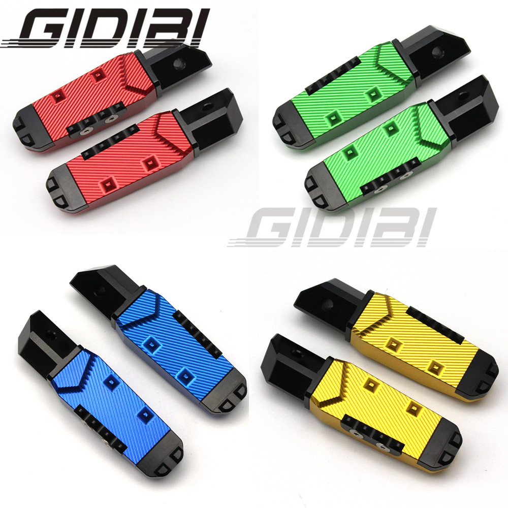 For Honda CBR900 CBR929 CBR959 VFR800 CNC 3D Pattern Rear Footrest Foot Pegs Rest Pedals Motorcyle