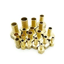 PCF Brass Hose Fitting 4mm 6mm 8mm  Barb Tail 1/8 1/4 1/2 3/8 All-copper Thickened Internal Tooth Thread of Gas and