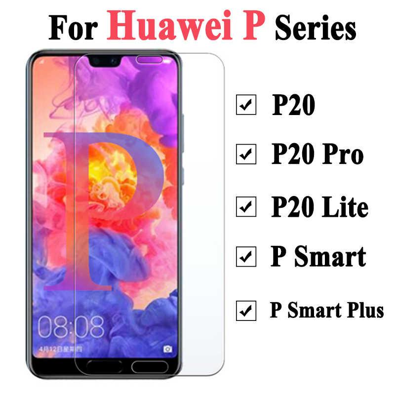 Vidrio Protector para Huawei P30 Lite Armor en Huawei P 20 Pro Smart Plus 9 Protector de pantalla Psmart luz Huawai Protector de pantalla