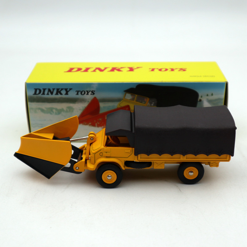1/43 Atlas Dinky 567 CHASSE-NEIGE Unimog Snowplough MERCEDES-BENZ Diecast Models Toys Car Limited Edition Collection
