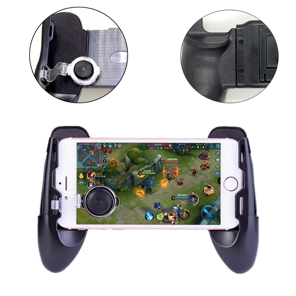 Mobile Legends New Three In One Handle Mini Handle Assisted Game Handle Holder Three in one Design Game Handle New-in Gamepads from Consumer Electronics