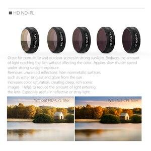Image 5 - PGYTECH DJI Mavic hava ND4 8 16 32 64 ND/ND PL filtre kamera Lens CPL filtreler DJI Mavic hava Drone aksesuarları