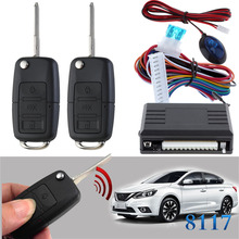 Flip key #22 for nissan Car Auto Remote Central Control Kit Keyless Entry System LED Central Door Lock Locking CHADWICK 8117 цена
