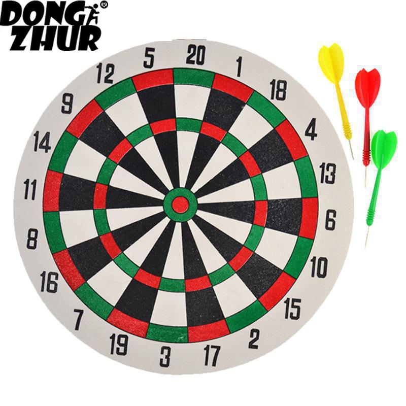 1 Set New Dart Board & Darts Game Set Perfect For Man Cave Game Room Kids Decoration