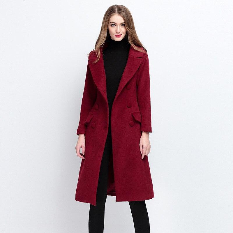 D'hiver Qualité Angleterre Laine De Supérieure Femmes Red Mode OkXnP80w