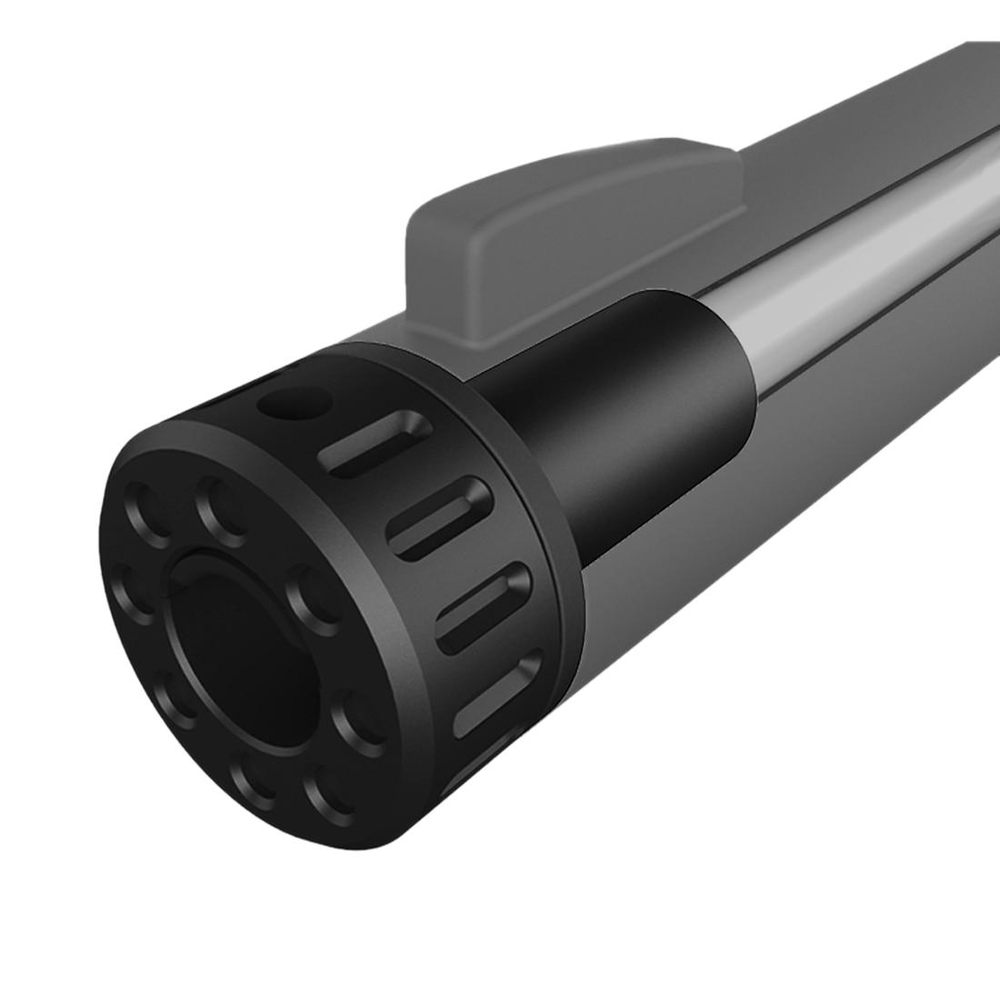 Gel de agua de piezas recto ajustable Hop por GJ M24 agua perlas de Gel Blaster modificación actualización-Negro