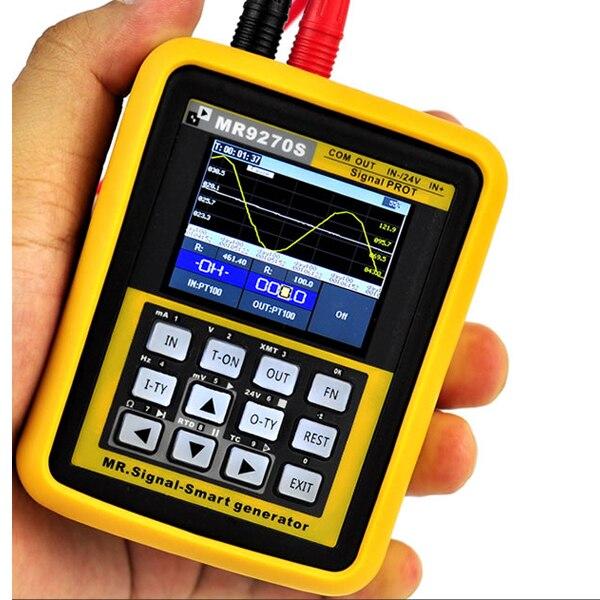 MR9270S 4-20mA Signal Générateur D'étalonnage Courant Tension PT100 Thermocouple Transmetteur de Pression Logger PID Fréquence