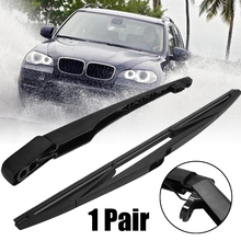 1set Rear Window Windshield Wiper Arm Blade High Quality PBT Soft Rubber Set For BMW X3 E83 2003-2010