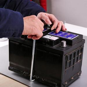 Image 5 - Universal Metall Einstellbar Batterie Halter Stabilisator Montieren Lagerung Rack Feste Halterung Stand Automobil Auto 19/23/27CM