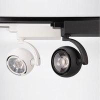 20W LED Track Light Cob Rail Spotlights Led Tracking Fixture Spot Lights AC85 265V Adjustable lamp For Exhibition Office CF442