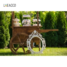 цены Laeacco Yard Pine Tree Grassland Booth Backdrop Photography Backgrounds Customized Photographic Backdrops For Photo Studio