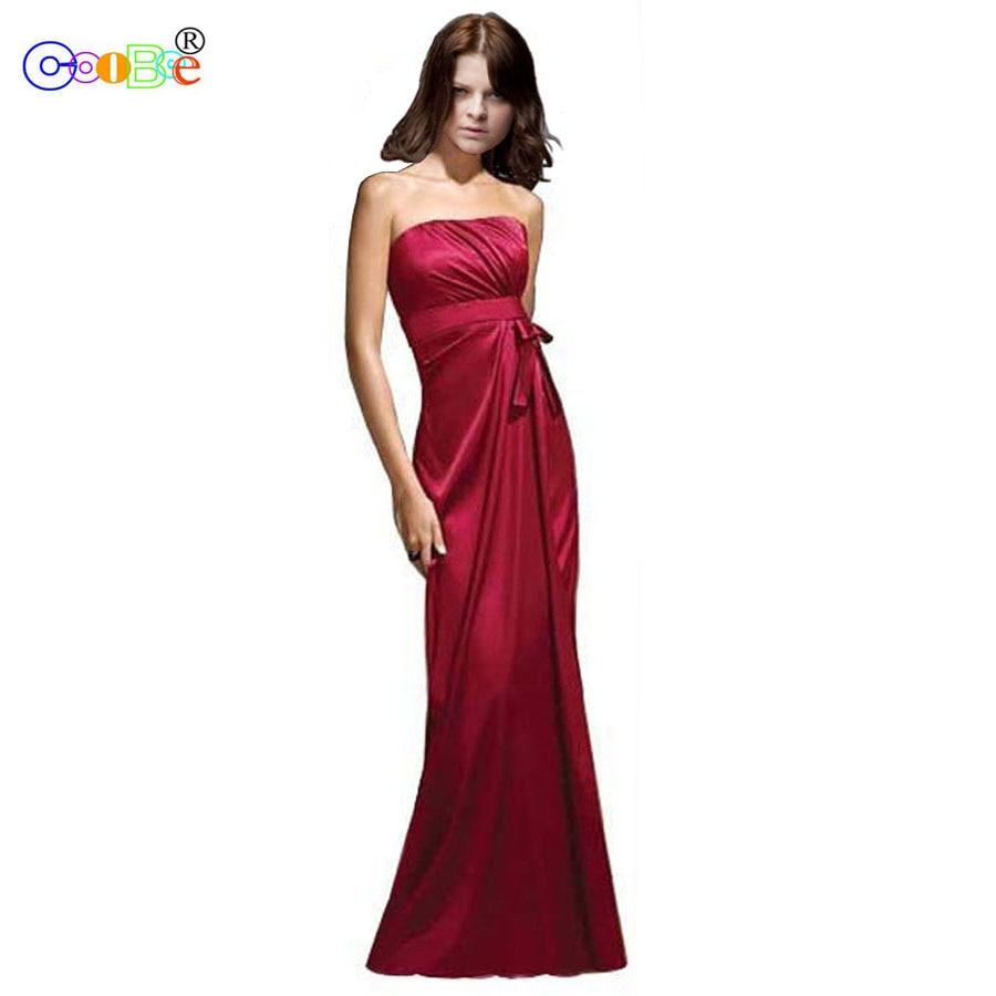 Coobee Cheap Long   Bridesmaid     Dress   2018 Luxury Mermaid Vestido De Festa De Casamen Formal Prom   Dresses   for Wedding Party BR07006