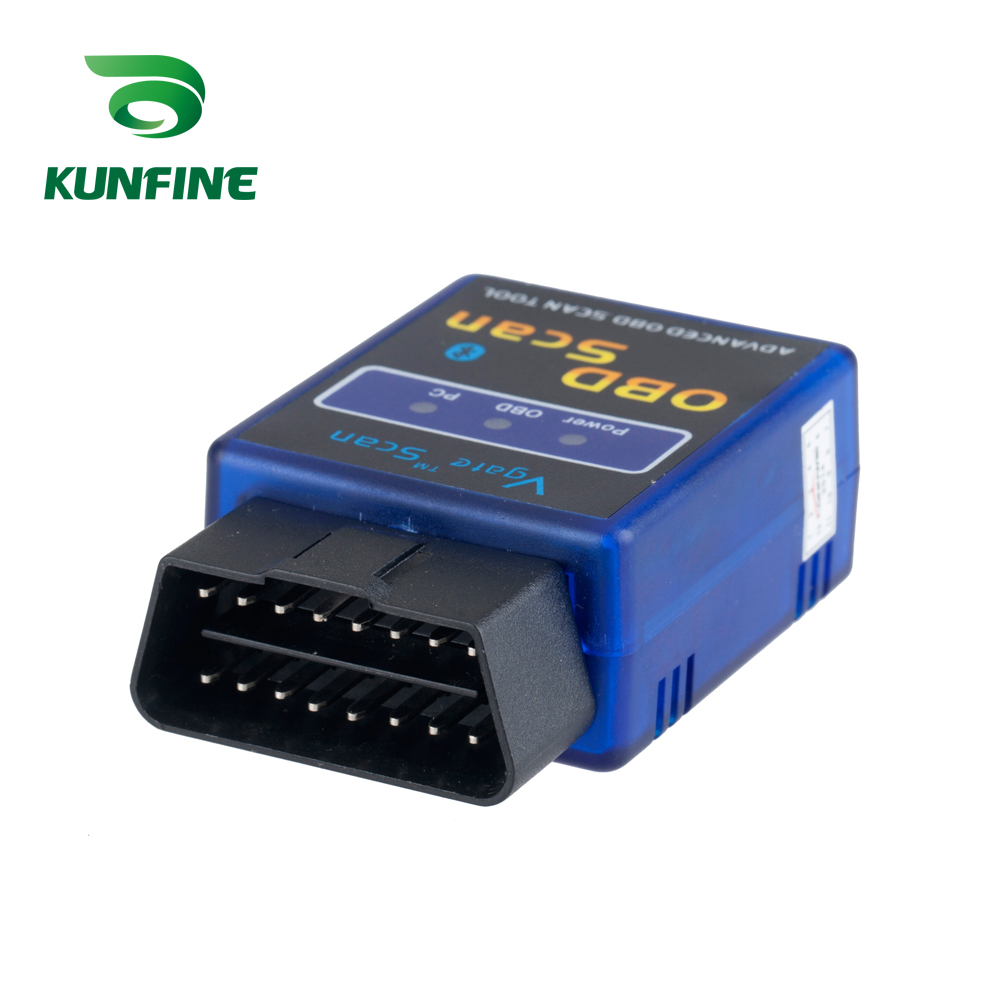 <font><b>OBD</b></font> <font><b>II</b></font> Vgate Scan <font><b>ELM327</b></font> <font><b>Bluetooth</b></font> Car-detector ELM 327 Diagnostic-tool <font><b>OBD</b></font> OBD2 scanner auto <font><b>Adapter</b></font> Diagnostic Tool image