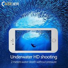 CASEIER 360 Full Cover Waterproof Case For iPhone 7 8 Plus XR X XS MAX Protect Phone Underwater Bags Funda Capa Capinhas