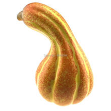 Gresorth 10 Artificial Curved Yellow Pumpkin Fake Vegetable Halloween Home Party Decoration - 1 pc