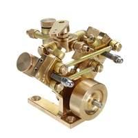 Микроуровне M2B Твин цилиндра морской модель с паровым двигателем игрушка Для детей Стирлинг Модель двигателя игрушка образовательных пода
