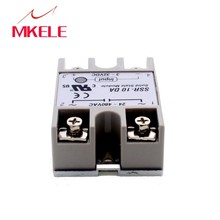 IMC Hot Grey 10A 3-32VDC 24-380VAC SSR-10DA Solid State Relay DIN Rail Base цена