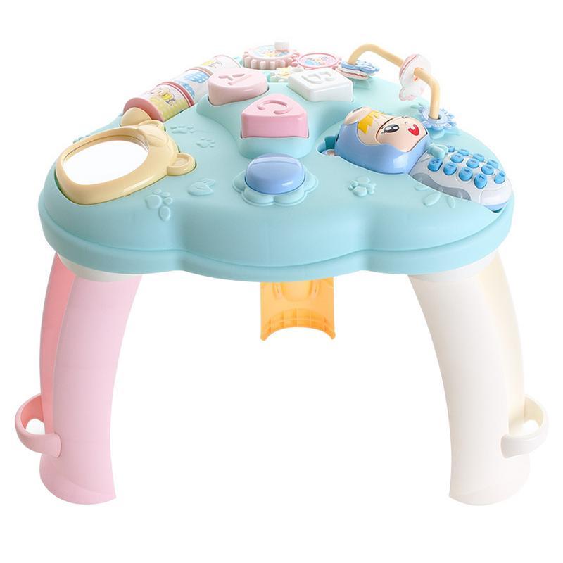 Multi-fonction bébé jouets Musical apprentissage Table 6 mois-éducation précoce musique activité Center jeu Table bambins infantile enfant