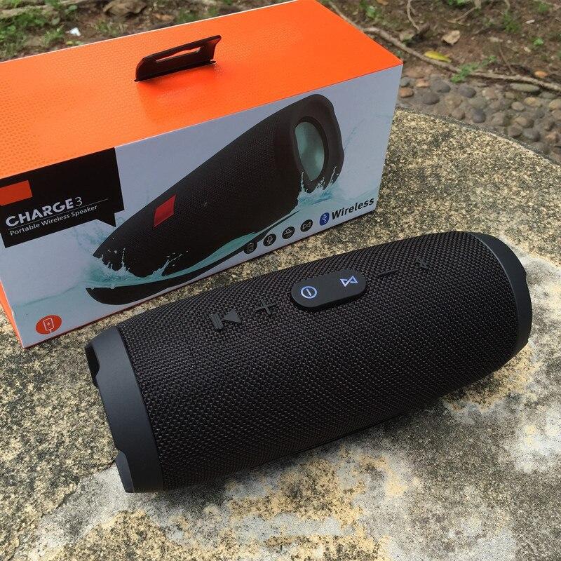 Haut-parleur Bluetooth extérieur Portable sans fil double haut-parleur Subwoofer étanche Charge3 Applicable pour téléphone PC JBL