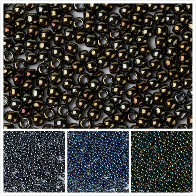 Taidian Toho 11 0 Japanese Seedbeads For DIY Boho Beadwork Metallic Iris  Brown 83 3grams fa030a93aff9