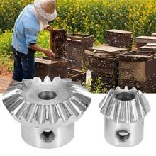 Шестерня с винтом и гаечным ключом Набор для экстрактора меда извлечение Ремонт для пчеловодства инструмент