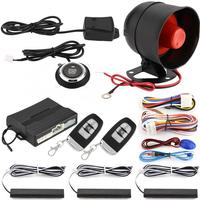 auto alarm Car Burglar Alarm Anti theft Security System PKE Keyless Entry Siren Protective oto aksesuar