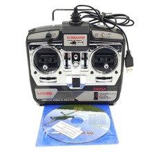 DTXMX 6CH RC simulador de vuelo JTL 0904A soporte Real RF7 G7 Phoenix 5,0 XTR Helicóptero De control Remoto Dron de ala fija (MODE2)