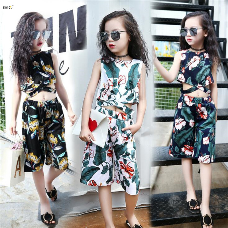 Flower Printed Ladies Clothes Set Summer time Sleeveless Persona Youngsters Outfits Two Items Youngsters Garments four 5 6 7 8 10 12 Years Aliexpress, Aliexpress.com, On-line purchasing, Automotive, Telephones...