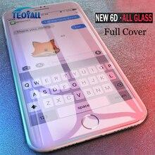Volle 6D Rand Gehärtetem Glas Für iPhone X XS 7 8 6 6s Plus Display schutz auf iPhone 7 8 6 10 11 Pro XS MAX XR Glas Schutz