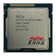 Intel Xeon E3-1230 v2 E3 1230v2 E3 1230 v2 3.3 GHz Quad Core processeur d'unité centrale 8M 69W, LGA 1155