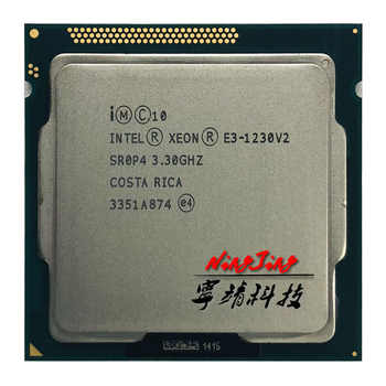 Intel Xeon E3-1230 v2 E3 1230v2 E3 1230 v2 3.3 GHz Quad-Core CPU Processor 8M 69W LGA 1155 - SALE ITEM - Category 🛒 Computer & Office