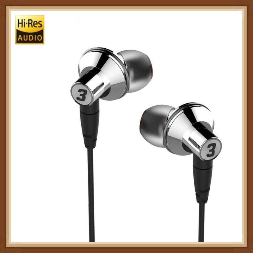 DUNU TITAN 3 T3 dynamique HiFi stéréo dans l'oreille écouteurs Nano titane diaphragme Vocal hi-res Audio écouteurs pour lecteur de téléphones