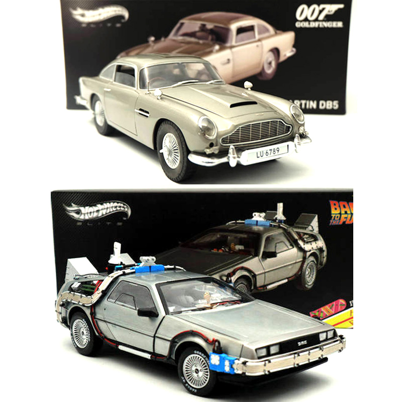 1 18 Back To The Future Time Machine Ultimate Edition BCJ97 Aston Martin DB5 Goldfinger 007