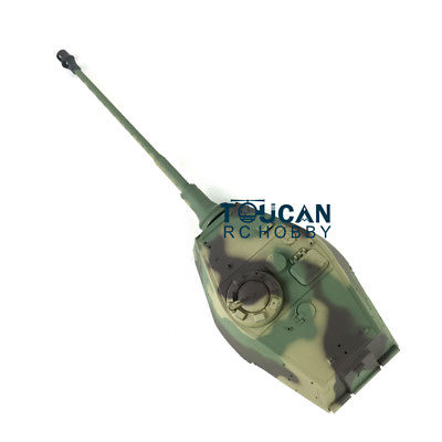 HengLong 5.3 Version 1/16 2.4Ghz 5.3ver King Tiger RC Tank 3888A Turret Recoil Barrel Flash TH00394