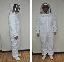 Full Body Beeking Suit Professional Bee Protection Clothing Veil Halt Gloves Hat Beekeeping Equipment High Quality 3