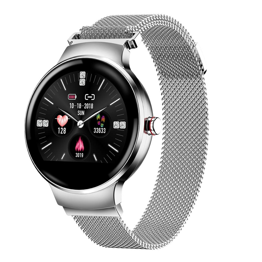 H5 femmes Bracelet intelligent Bluetooth Fitness Tracker Bracelet intelligent couleur écran tactile étanche fréquence cardiaque Bracelet intelligent