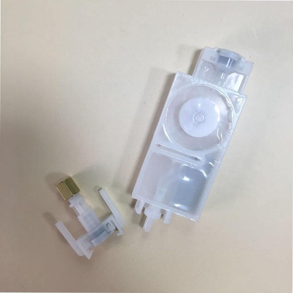 Image 4 - 20PC Dx5 ink dumper for mimaki JV5 CJV30 JV33 Galaxy eco solvent  plotter for epson Dx5 TX800 printhead ink damper with connectorPrinter  Parts