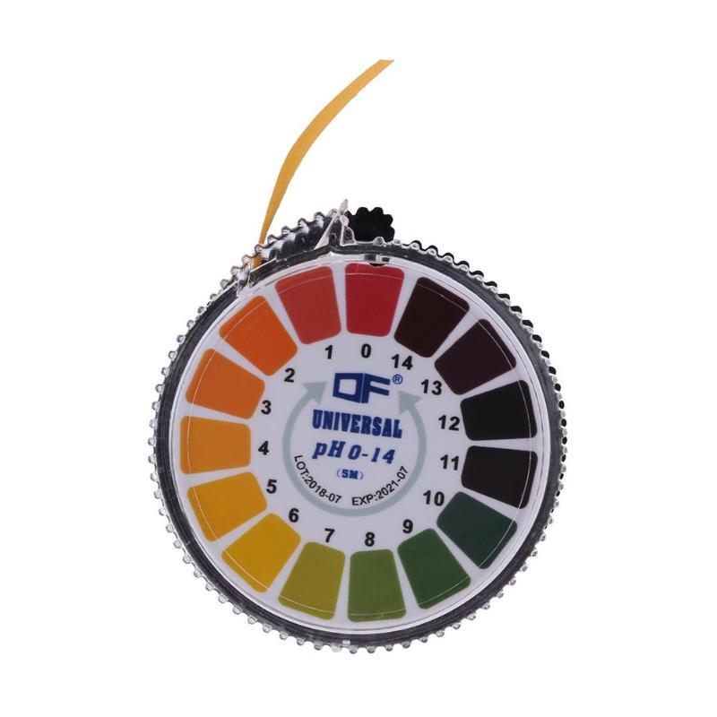5m 0-14pH Alkaline Acid Indicator Meter Test Paper Roll For Water Saliva Urine Soil Litmus Accurate Testing Measuring 2018 New