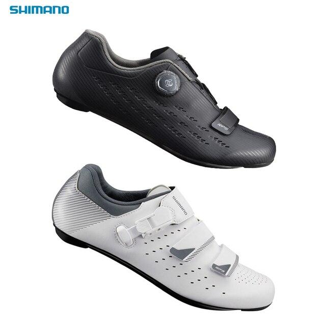 ffa69dfa59a27c Shimano RP3 RP4 RP5 Road Bike Cycling Shoes SPD Carbon Triathlon Shose Men  Bicycle Sport Cleat Women RP301 501 Locking Racing