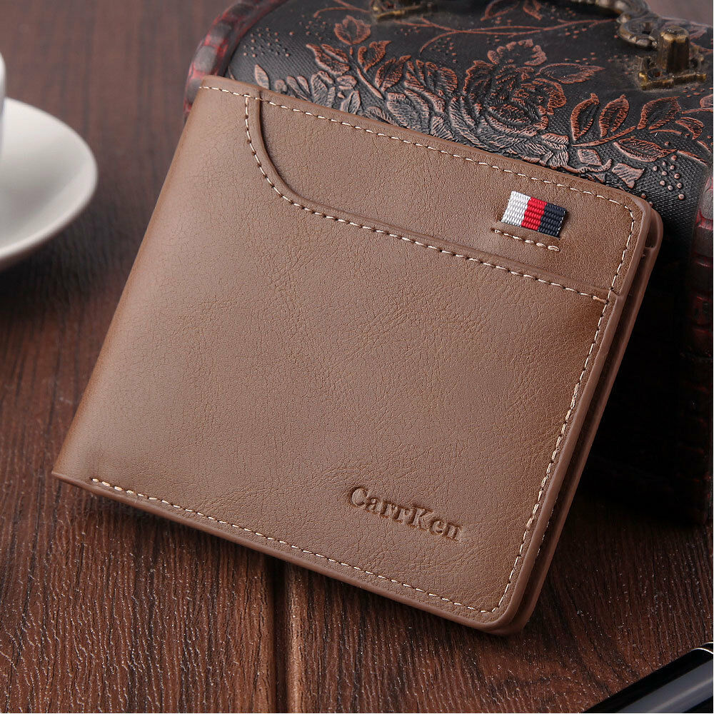Quality Men/'s Bifold Leather Wallet Credit Card Holder ID Billfold Purse Clutch