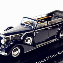 1/43 Starline Lancia Astura Ministeriale IV серия 1938 синяя литая под давлением модель